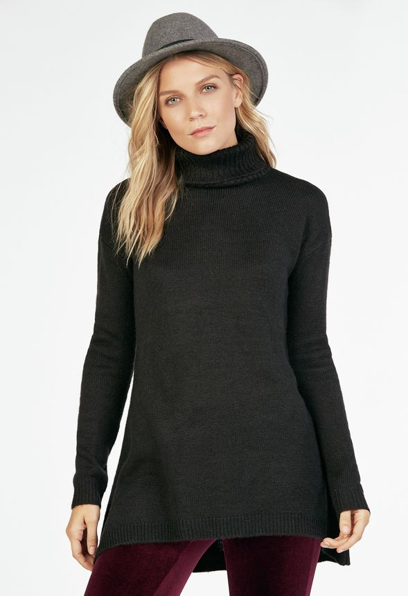 76c9f133213 Trapeze Sweater in Black - Get great deals at JustFab