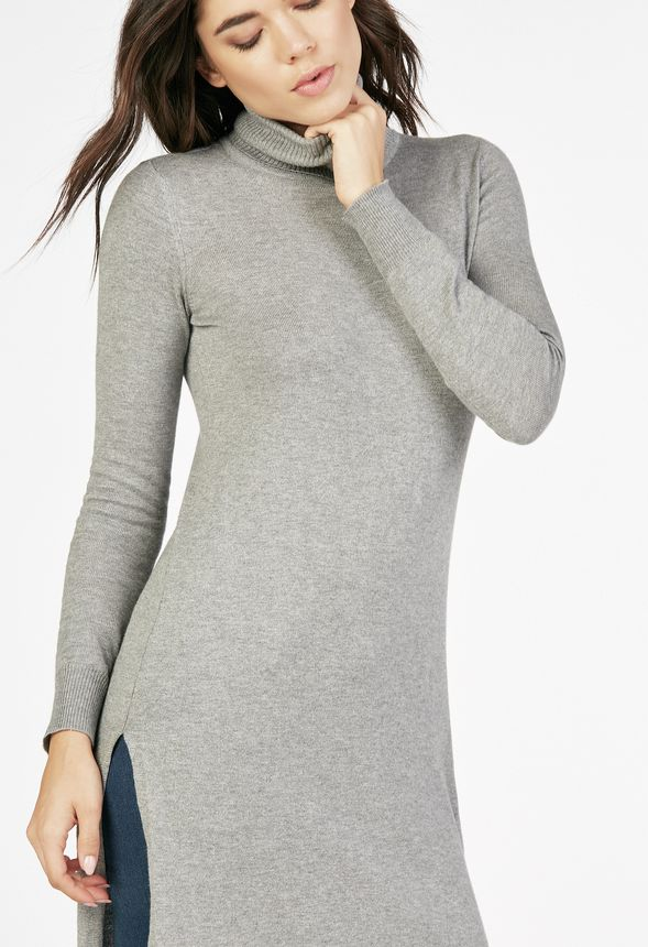 Aran Cowl Neck Tunic Sweater - Reviews This Cowl Neck Tunic Sweater, featuring the popular Aran Cable design (used in many Irish sweaters), is perfect for those looking for the sweater dress look over leggings or jeans.