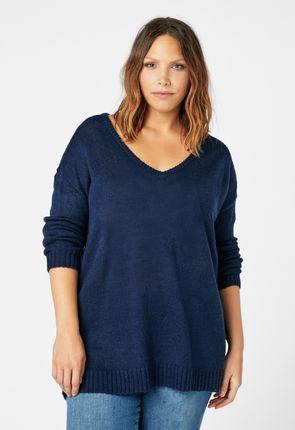 afc773d1b24 V-Neck Sweater ...