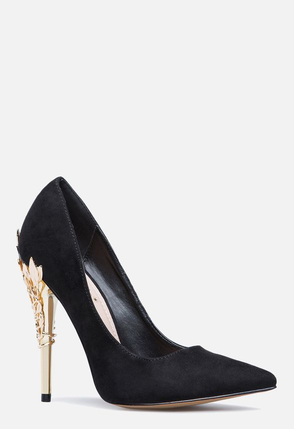 56ca987c0a1 ESPERANZA PUMP in Black - Get great deals at JustFab