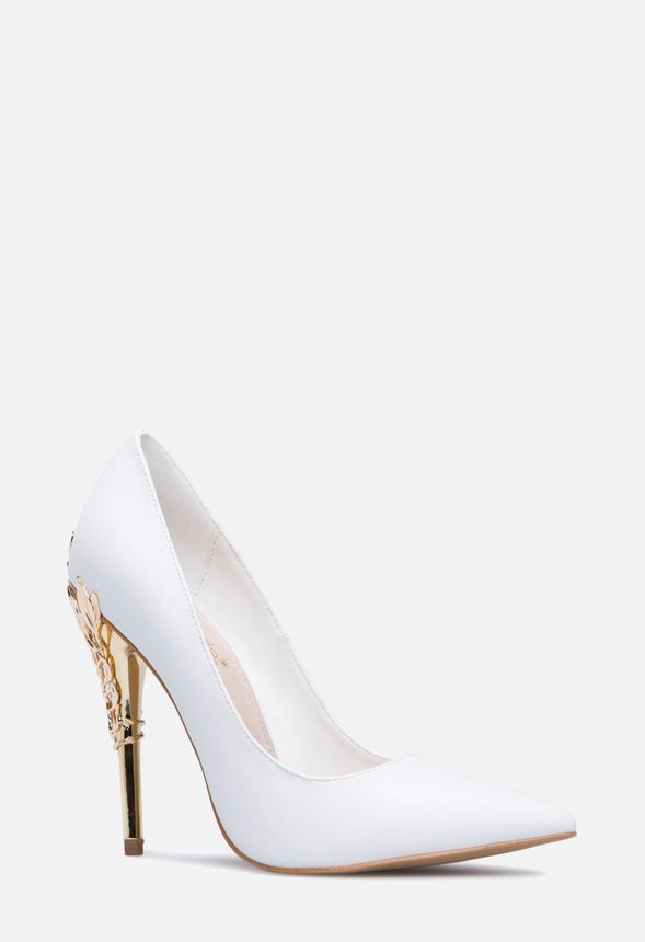 492243ccd96 ESPERANZA PUMP in White - Get great deals at JustFab