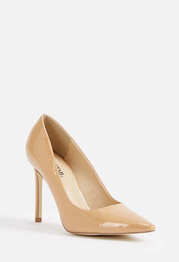b15530c4e12 Lyssa Classic Pump in Nude - Get great deals at JustFab