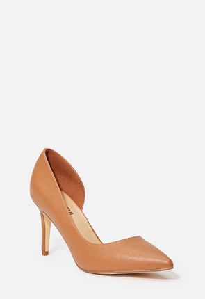 Women's Brown, Work Pumps On Sale - 75% Off Your First Item