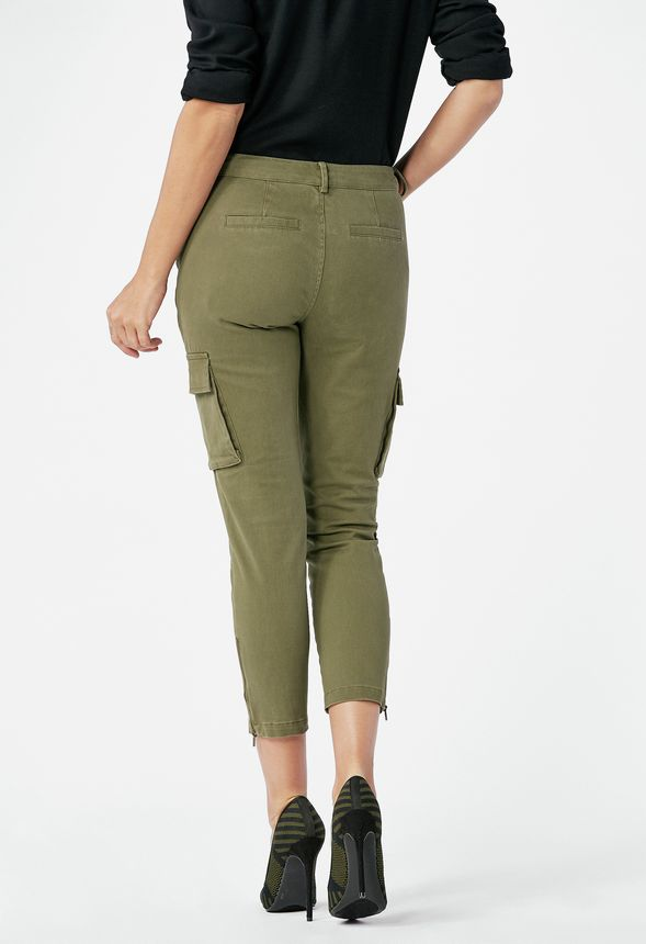 a1220095b2 Cargo Pants in Dark Olive - Get great deals at JustFab