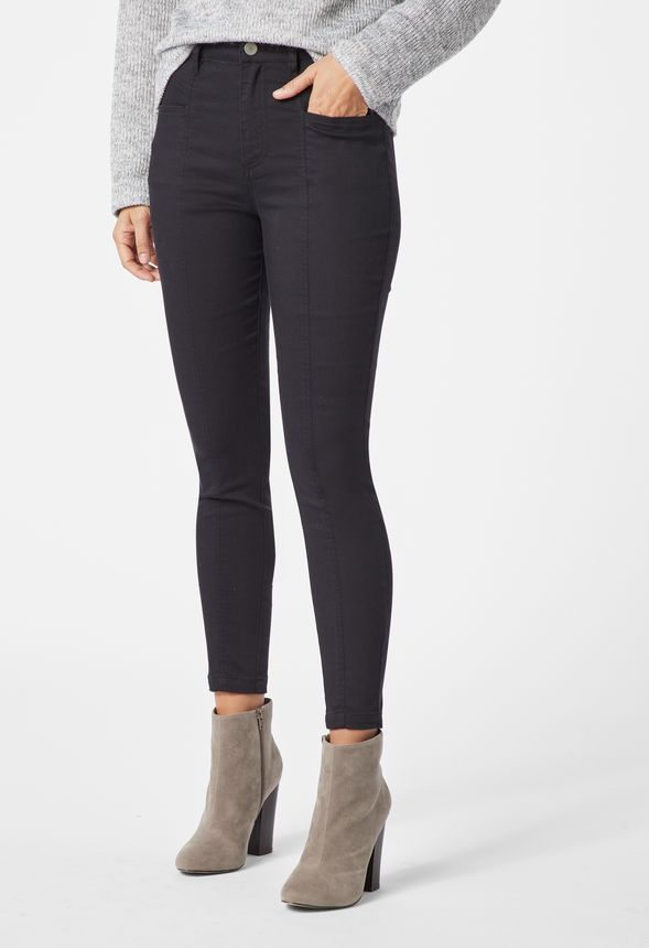 4bf35ee662ab7a High Waisted Utility Pants in Black - Get great deals at JustFab