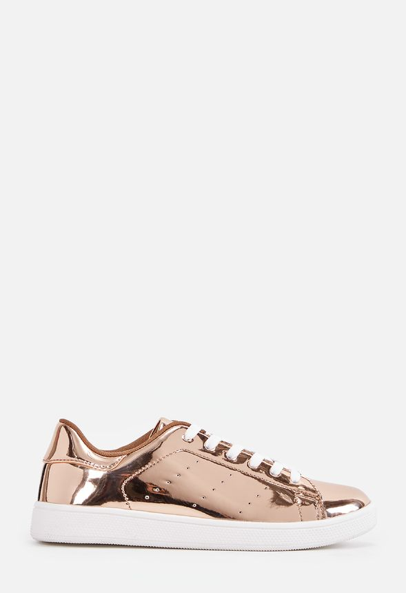 sapphire sneaker in rose gold get great deals at justfab
