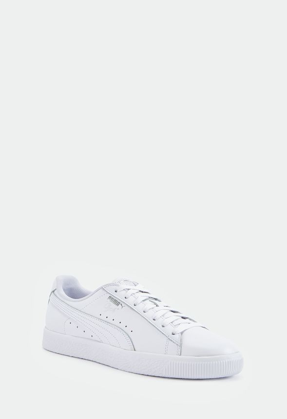timeless design 25d9b bb48c Puma Clyde Core Foil in White - Get great deals at JustFab