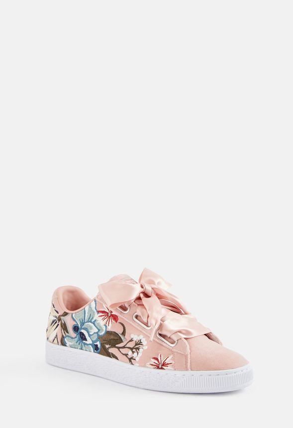 Puma Basket Heart Hyper Emb Sneaker in