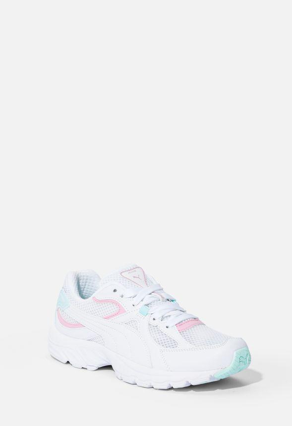Puma Axis Plus 90's Sneaker in White