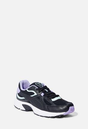 Puma Axis Plus 90's Sneaker in Black