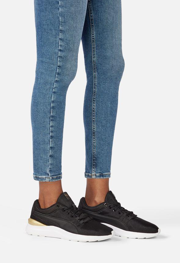 Puma Adela Sneaker in Black - Get great