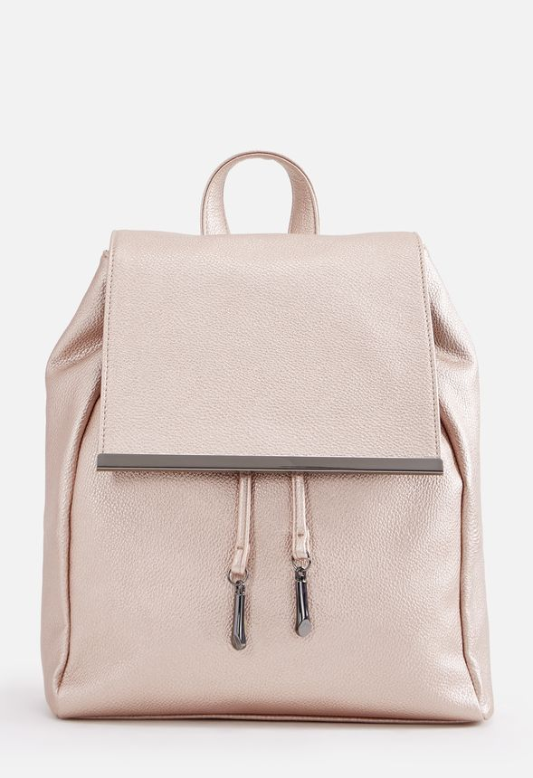 b45b6494f0c0 William Backpack in Rose Gold - Get great deals at JustFab