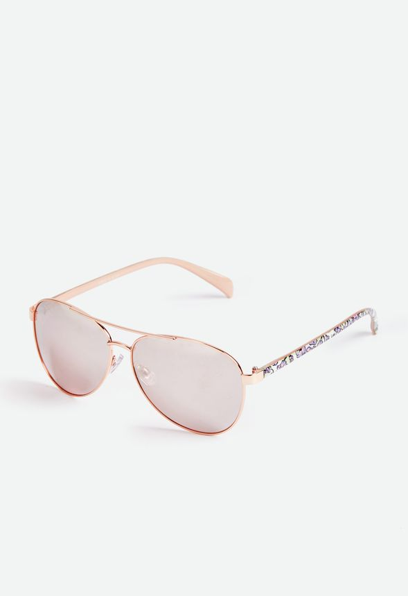 44453da0bf7 Bring To Light Sunglasses Accessories in Rose Gold - Get great deals at  JustFab