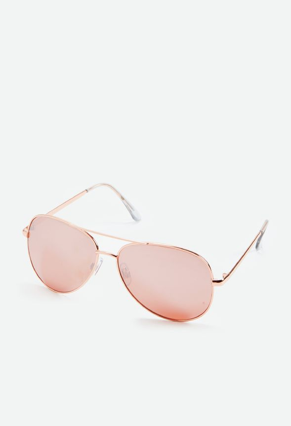 6eb4cf76d58 Sunny Side Sunglasses Accessories in Rose Gold - Get great deals at JustFab