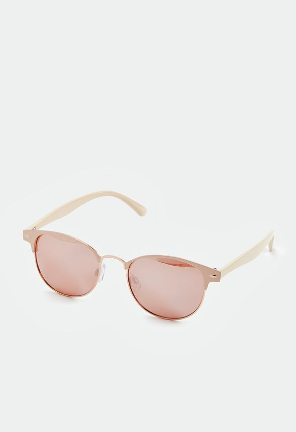 3a86f3049a0 Made In The Shade Sunglasses Accessories in Nude Rose Gold - Get great deals  at JustFab