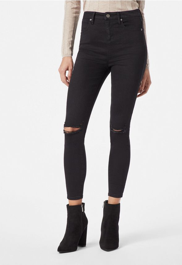 77e4485634e90e Ultra High Rise Skinny Jeans in POISON IVY - Get great deals at JustFab
