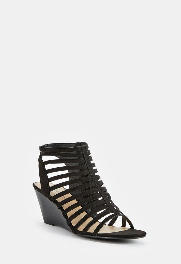 fcc34ae67 Nadine Wedge in Black - Get great deals at JustFab