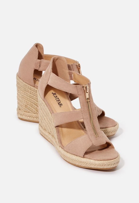 49e636c68d1 Karsey Wedge in Taupe - Get great deals at JustFab