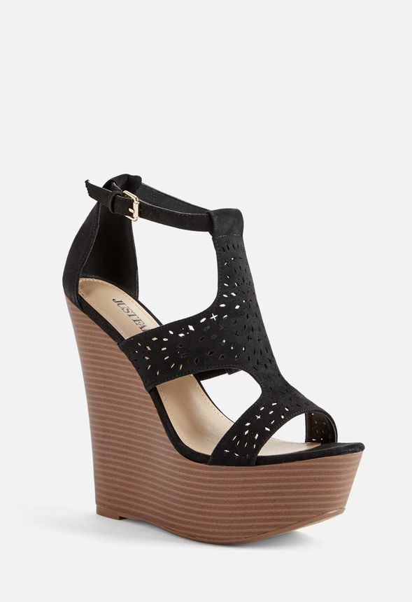 ea51d7ef461 Sheree Wedge in Black - Get great deals at JustFab