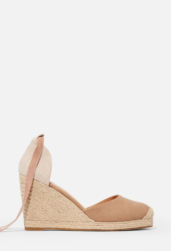 a4ba5ead9b0 Nicoletta Espadrille Wedge in Taupe - Get great deals at JustFab