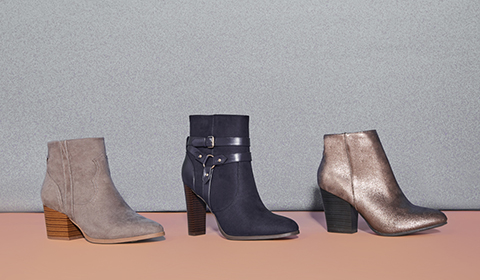 Shop Affordable Booties Online at JustFab