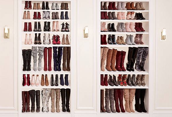 Shop More Fuzzy Boots Online!