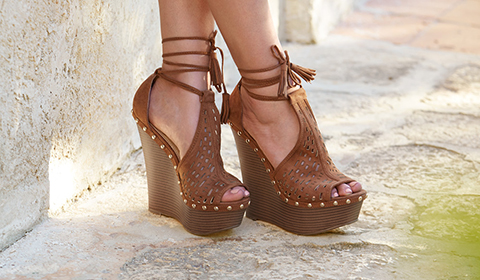 Women S Wedges Stand Tall In Justfab S Top Selling Wedge