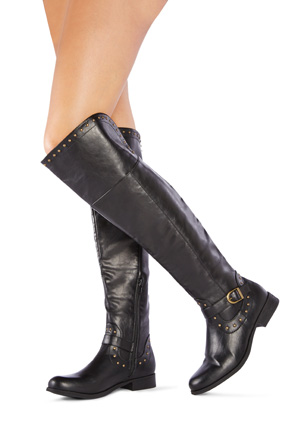 Women's Knee High Leather Boots - On Sale - Buy 1 Get 1 Free for ...