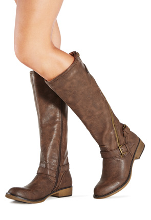 Women\'s Flat Boots - Buy 1 Get 1 Free for New Members!