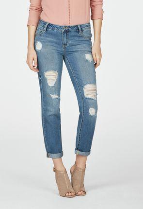 Cheap Boyfriend Jeans for Women - Buy 1 Get 1 Free for New Members!