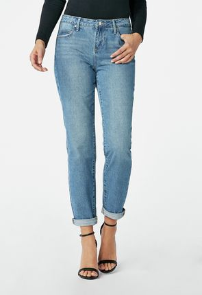 7bbce39d0d8 Boyfriend jeans combine a relaxed feel with a chic silhouette. Our best  boyfriend cuts are not too skinny and never too slouchy, and these  inexpensive pants ...