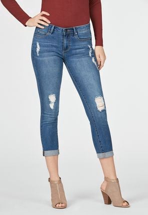 Women's Cropped Jeans On Sale - Buy 1 Get 1 Free for New Members!