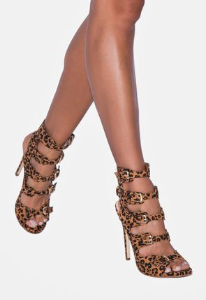 Leopard Heels on Sale - Buy 1 Get 1 Free for New Members!