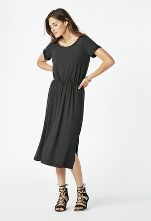8b845d8885f Stylish midi dresses range from super casual shirtdresses to flirty fit and  flare dresses. Sexy but comfortable bodycon styles are structured but not  too ...
