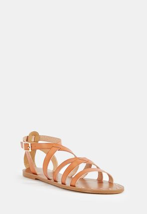 1ae1b3fa2 You ll enjoy our cute flat strappy sandals in a range of fashion colors.  Select cheap ankle strap sandals in pastel or bright tones