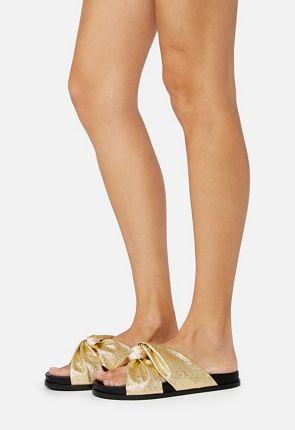 cdc5fb0df Women s Gold Gladiator Sandals. Bea Slide Sandal.  24.95. Vilana Slide  Sandal