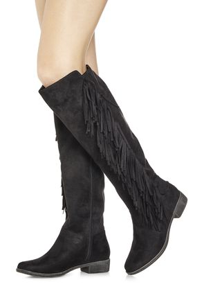 Women's Black Flat Boots On Sale - Buy 1 Get 1 Free for New Members!