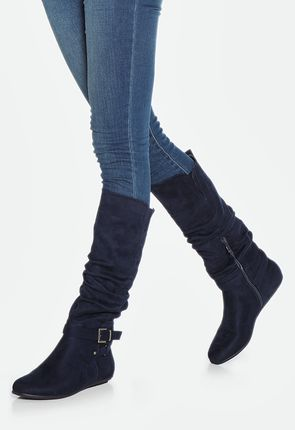 Women's Flat Boots - Buy 1 Get 1 Free for New Members!