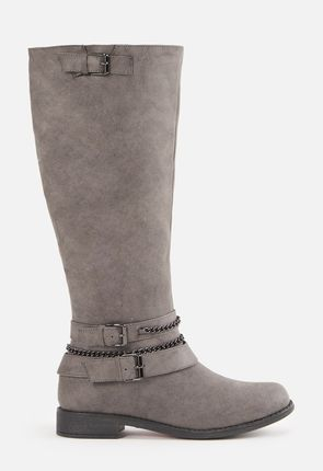 505cce5820ea Women's Grey Boots - On Sale - Buy 1 Get 1 Free for New Members!