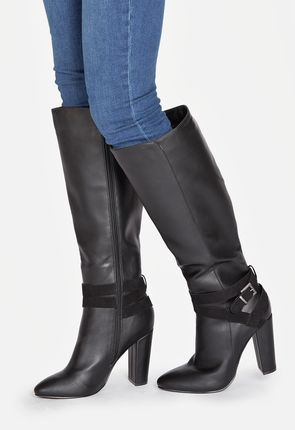 Black High Heel Boots - On Sale - Buy 1 Get 1 Free for New Members!