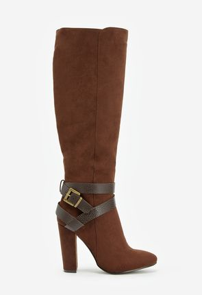 Brown High Heel Boots - On Sale - Buy 1 Get 1 Free for New Members!