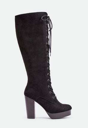 Women's Black Knee High Boots - On Sale - Buy 1 Get 1 Free for New ...