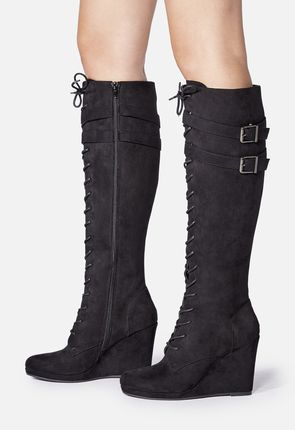 Sexy wedge boots