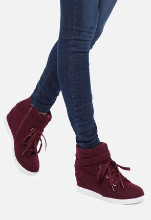 purple and black leather shoes wedge sneakers for women on sale buy 1 get 1 free for new members