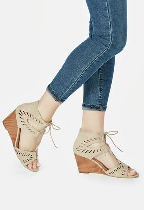 Nude Wedges - Shoes, Sandals & Heels on Sale - BOGO for New Members!