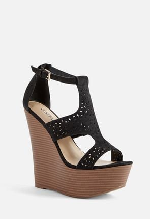 202809b8f Our platform wedges give you plenty of extra height, and they look great on  your feet, too. Elongate your legs with sexy platform wedge heels, ...