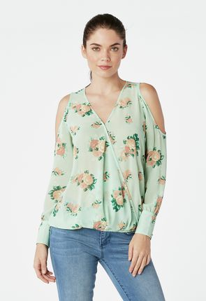 4ed2c7cc8 Shop Women's Clothes: Criss Cross Tunic Top. $19.95. (161). Printed Wrap  Front Top